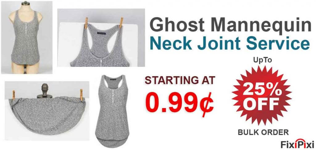 Photoshop Ghost Mannequin service