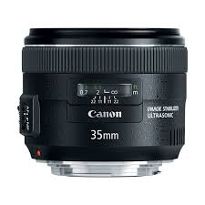 Canon EF 35mm f2 IS USM Wide-Angle Lens