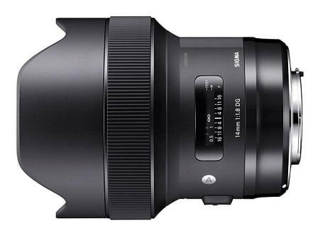Sigma 24mm f1.4 DG HSM Art Lens for Canon EF