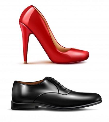 shoe photo color correction